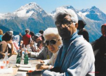 Del & Lucile Anderson CFO International Camp Switzerland 1985